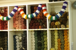 Lots of lovely colours of Jamieson's Shetland Spindrift