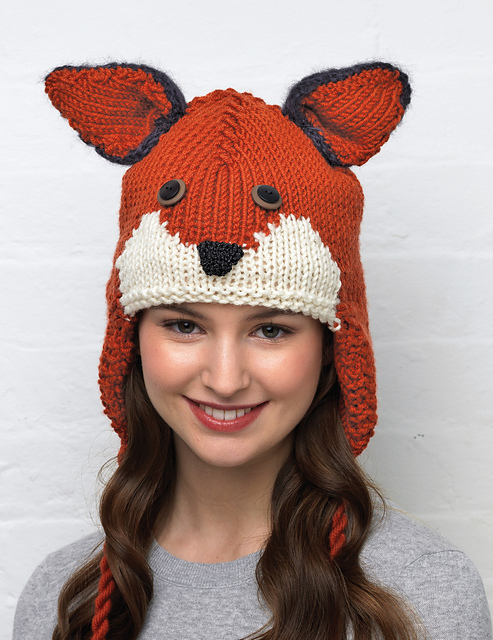 Knitting Pattern Fox Hat : Green Eyed Monsters Kate Heppell plays with yarn
