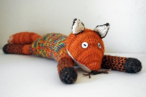 I love Ella's Intrepid Fox - I kinda want to knit a huge version as a snuggly sofa cushion.