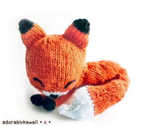 If this sleepy fox isn't the cutest thing you've ever seen, well...you're just wrong, sorry.